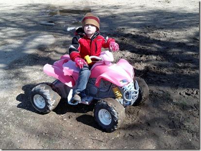 Zach 4 Wheel Mud