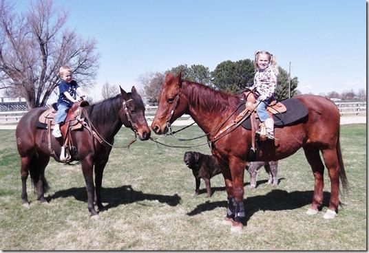Kid on Horses
