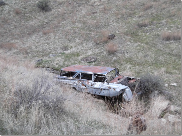 Rusted Car Ravine