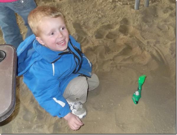 Zach in the Dirt