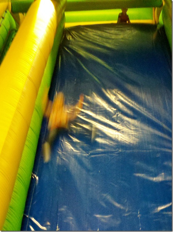 Watching Sissie Slide