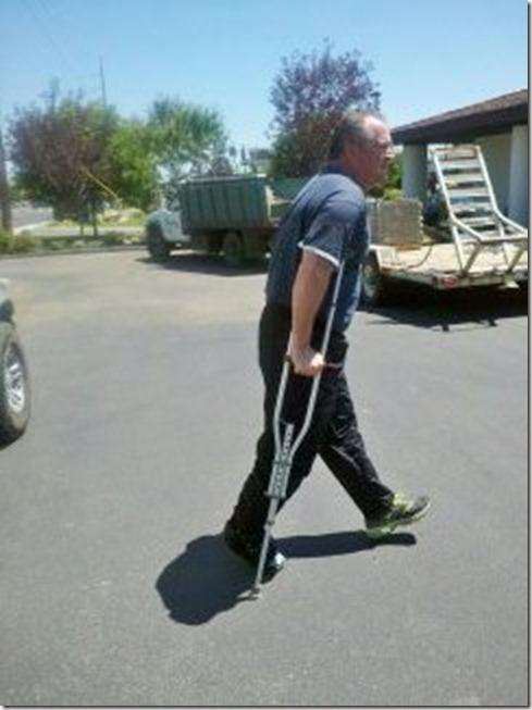 Last Crutch Walk