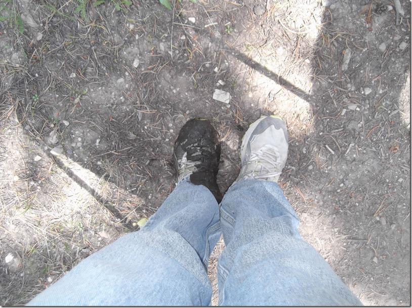 One Muddy Shoe
