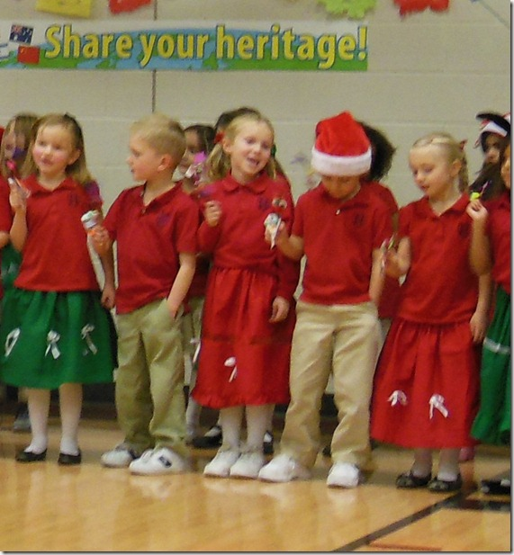 Annabelle's xmas program