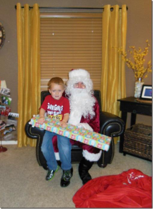 Batman and Santa