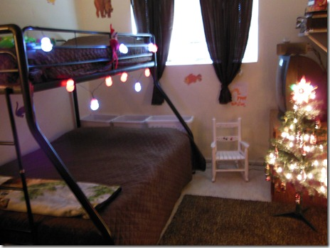 Decorated Bunk Bed