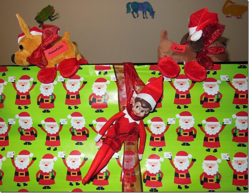 Elf brings Gifts