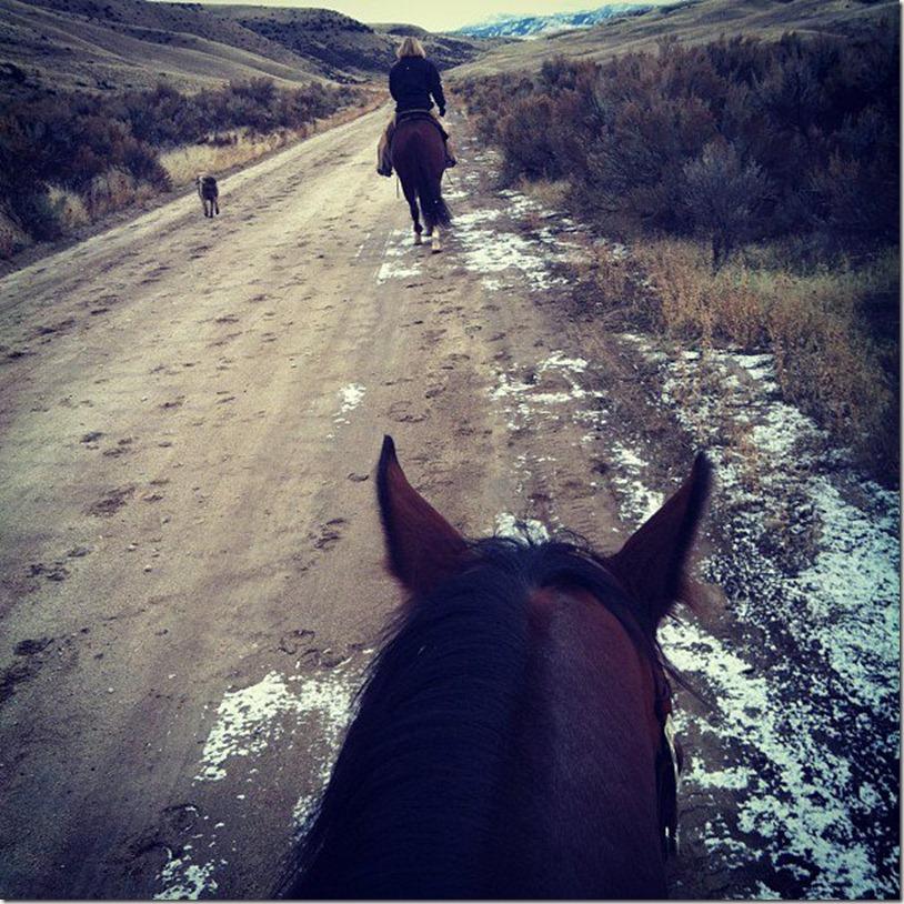 Riding with Kristi
