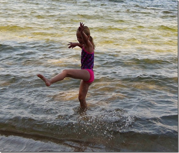 McCall Dancin in the Surf