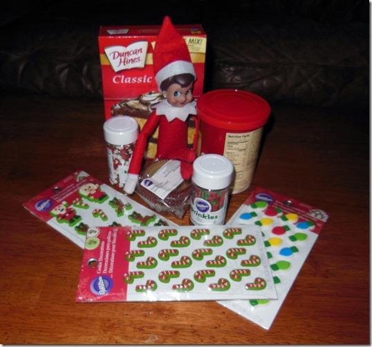 Xmas Cupcake Supplies