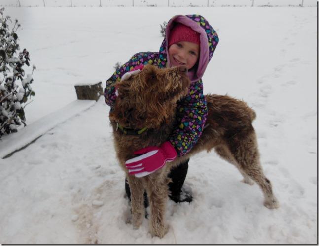 Xmas First Snow Day