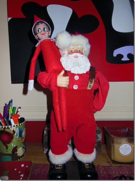 Xmas Standing Santa