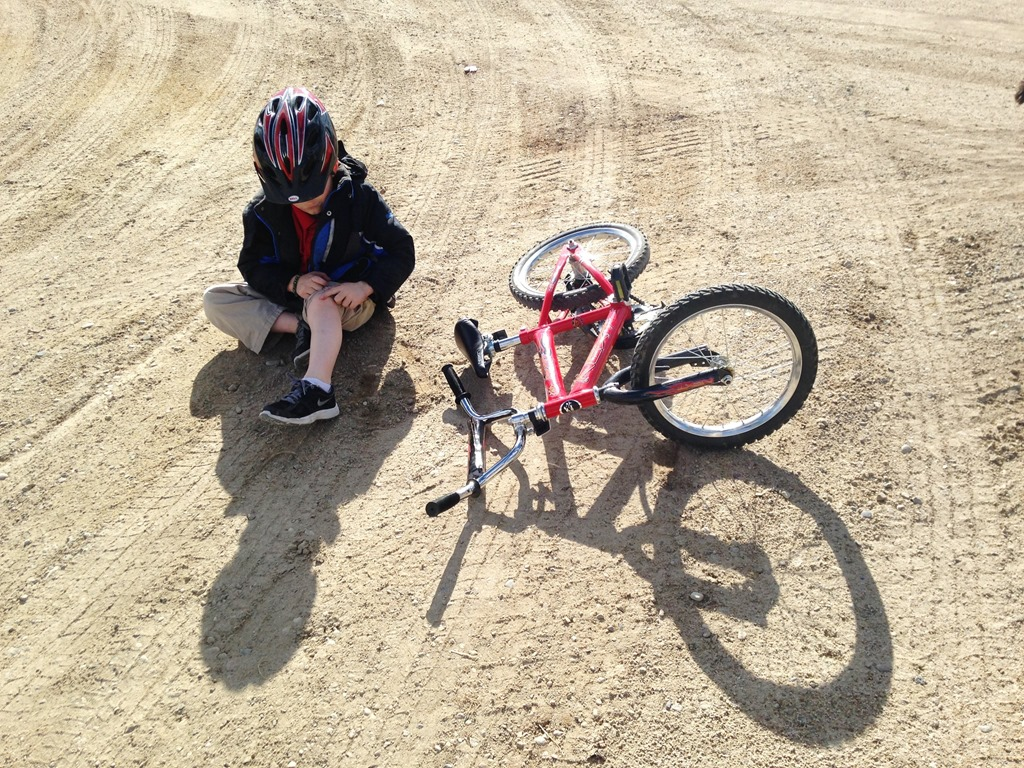 kid riding bikes | Chronicles of a Desperate Horsewife