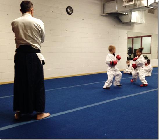 Karate Spar 1 (2)