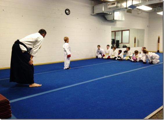 Karate Spar 13