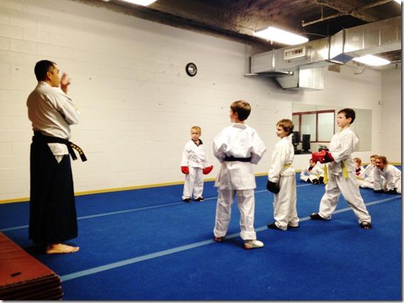 Karate Spar 14